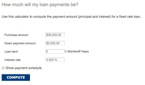 How Much Will the Loan Payments Be?